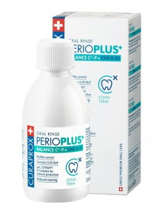 Curaprox Perio Plus + Balance - Płukanka do ust z CHX 0,05% i CITROX® / P Complex (200 ml)