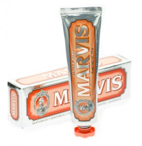 Marvis Ginger Mint - Pasta do zębów o smaku imbiru i mięty w stylu retro  85ml